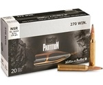 Sellier & Bellot 270 Winchester Ammo 130 Grain Nosler Partition