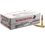 Winchester USA 5.56mm NATO 55 Grain Full Metal Jacket