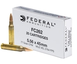 Federal 5.56x45mm NATO Ammo 77 Grain Open Tip Match