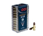 CCI 22 Long Rifle Ammo 21 Grain Compressed Copper Polymer