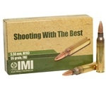 IMI Ammo 5.56x45mm NATO 55 Grain M193 Full Metal Jacket Boat Tail