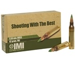 IMI Ammo 5.56x45mm NATO 62 Grain M855 SS109 Penetrator Full Metal Jacket Boat Tail