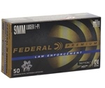 Federal Law Enforcement 9mm Luger Ammo 124 Grain HST +P JHP