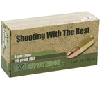 IMI Ammo 9mm Luger 115 Grain Full Metal Jacket