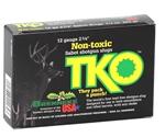 "Brenneke TKO 12 Gauge Ammo 2-3/4"" 2/3oz Non-Toxic Tin Sabot Slugs"