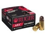 Ruger PolyCase 9mm Luger +P Ammo 80 Grain ARX