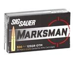Sig Sauer Elite Performance 300 AAC Blackout 125 Grain Open Tip Match - Box of 10