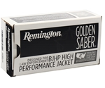 Remington Golden Saber 357 Magnum Ammo 125 Grain BJHP