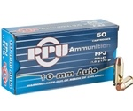 Prvi Partizan 10mm Auto Ammo 170 Grain Jacketed Flat Point