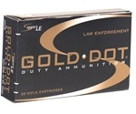 Speer Gold Dot LE Duty 223 Remington Ammo 55 Gr SP