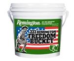 Remington Freedom Bucket 223 Remington Ammo 55 Gr FMJ 300 Rds