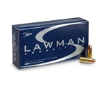 Speer Lawman CleanFire 9mm Luger Ammo 124 Grain TMJ