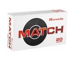 Hornady Match 6mm Creedmoor Ammo 108 Grain ELD Match