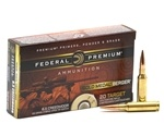 Federal Gold Medal Berger 6.5 Creedmoor Ammo 130 Gr Berger Hybrid