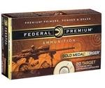 Federal Gold Medal Berger 223 Remington Ammo 73 Gr Berger Hybrid