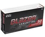CCI Blazer 9mm Luger 115 Grain FMJ