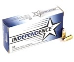 Independence 9mm Luger 115 Grain Full Metal Jacket