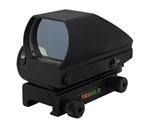 TruGlo Tru-Brite Reflex Red Dot Sight Red and Green 4-Pattern Reticle with Integral Weaver-Style Base
