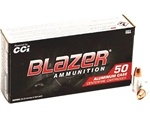 CCI Blazer 9mm Luger Ammo 147 Grain Total Metal Jacket