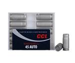 CCI Shotshell 45 ACP AUTO Ammo 117 Grain #9 Shot