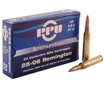 Prvi Partizan 25-06 Remington Ammo 90 Grain Hollow Point