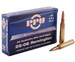 Prvi Partizan 25-06 Remington Ammo 90 Grain Hollow Point