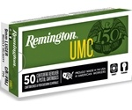 Remington UMC 9mm Luger Ammo 124 Grain Full Metal Jacket
