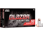 CCI Blazer 45 ACP AUTO Ammo 230 Grain Full Metal Jacket