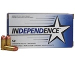 Independence Ammo 40 S&W 165 Grain Full Metal Jacket Ammunition