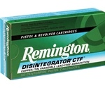 Remington Disintegrator Lead Free 9mm Luger Ammo 100 Grain Copper/Tin Frangible