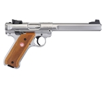"Ruger Mark IV Competition 22 Long Rifle Semi-Auto 6.88"" 10 Rounds Stainless Steel"