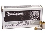 Remington Golden Saber 9mm Luger Ammo 147 Grain BJHP