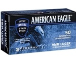 Federal American Eagle C.O.P.S 9mm Luger Ammo 115 Gr Ammo FMJ
