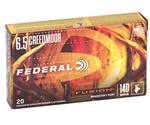 Federal Fusion 6.5 Creedmoor Ammo 140 Grain Soft Point