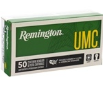 Remington UMC 380 ACP AUTO Ammo 95 Grain FMJ
