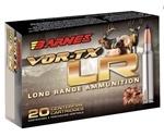 Barnes VOR-TX Long Range 6.5 Creedmoor Ammo 127 Grain Barnes LRX Boat Tail Lead-Free