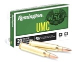 Remington UMC 223 Remington Ammo 55 Grain FMJ