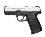 "Smith & Wesson SD9VE 9mm Luger Semi Auto 4"" Barrel 17 Rounds Stainless Slide Polymer Frame Textured Grip Black"