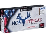 Federal Non-Typical 30-30 Winchester Ammo 170 Grain Soft Point RN