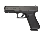 "Glock G17 Gen5 9mm Luger Semi-Auto 10 Rounds 4.5"" Marksman Barrel No Safety nDLC Finish"