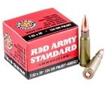 Red Army Standard 7.62x39mm Ammo 124 Grain FMJ BT
