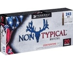 Federal Non-Typical 243 Winchester Ammo 100 Grain SP