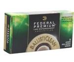 Federal LE BallistiClean 40 S&W Ammo 125 Gr LF Frangible RHT
