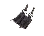 High Speed 40MM Taco Molle Double Configuration Black