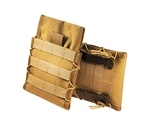 High Speed Adjustable Side Plate Pouch Coyote Brown