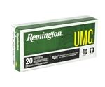 Remington UMC 223 Remington 62 Grain Closed Tip Flat Base