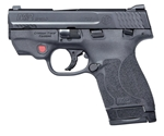 "Smith & Wesson M&P M2.0 40 S&W Semi-Auto 6/7 Rounds 3.1"" Barrel with Intergrated Crimson Trace Laser Black"