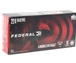 Federal American Eagle 224 Valkyrie Ammo 75 Grain TMJ