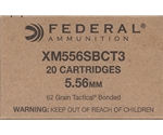 Federal Lake City 5.56x45mm NATO Ammo 62 Grain TBSP