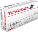 Winchester USA 7.62x39mm Russian 123 Grain FMJ